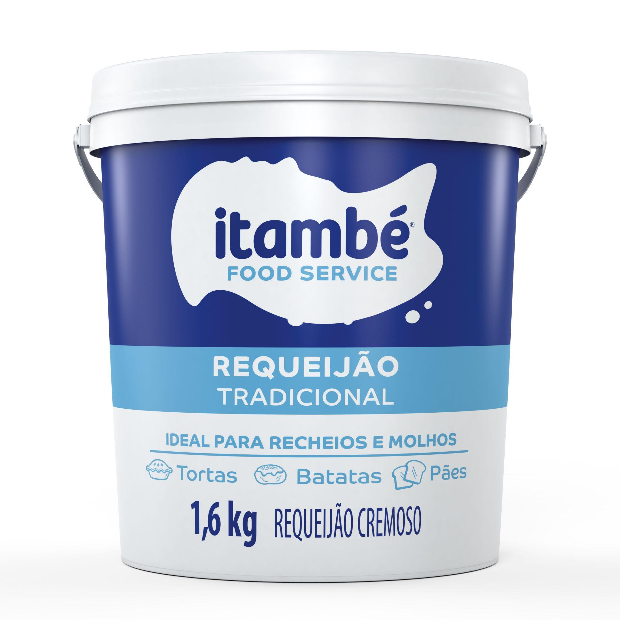 Requeijão Itambé ganha embalagem para food service