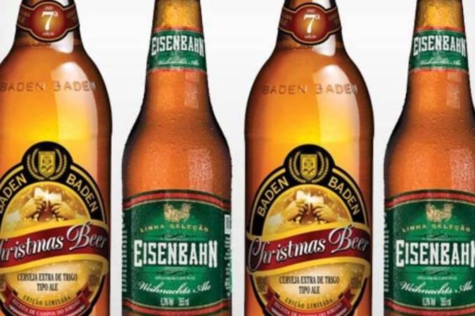 Cervejas Eisenbahn e Baden Baden entram em clima de Natal