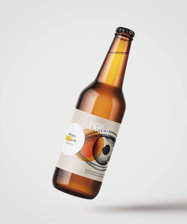 Escritório de design cria rótulos de cerveja para ação comemorativa