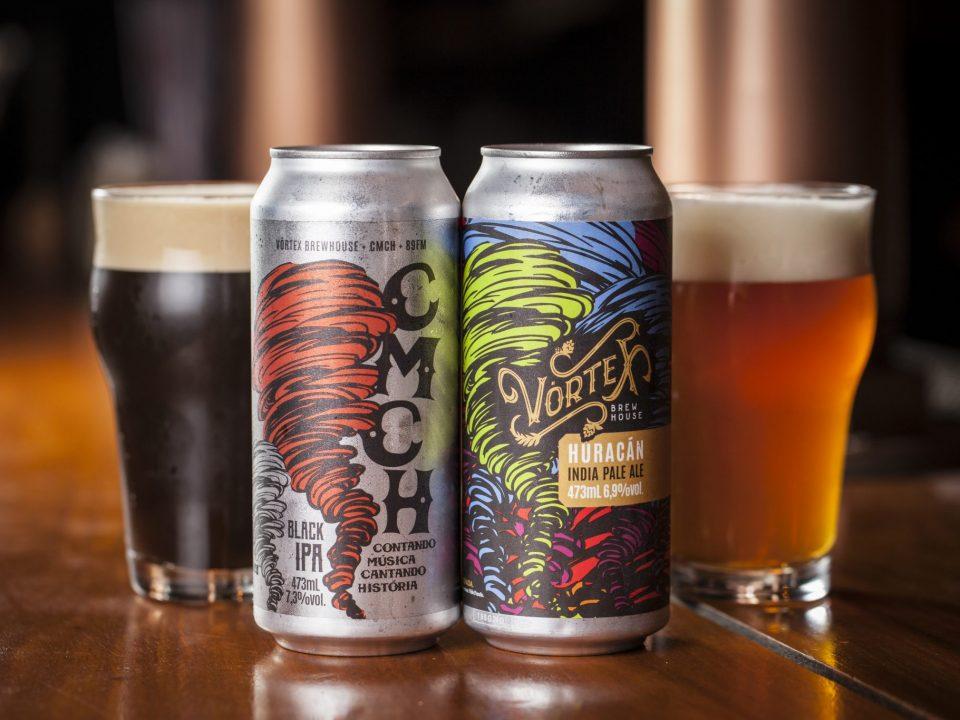 Vórtex Brewhouse lança cervejas em latas