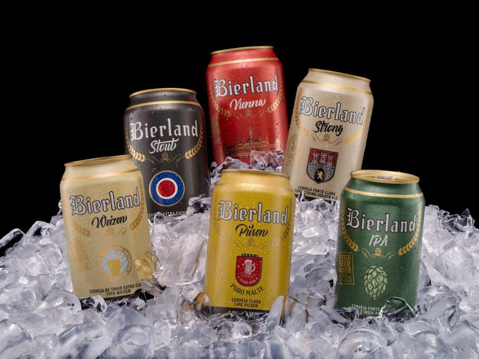 Bierland converte portfólio de bebidas para latas