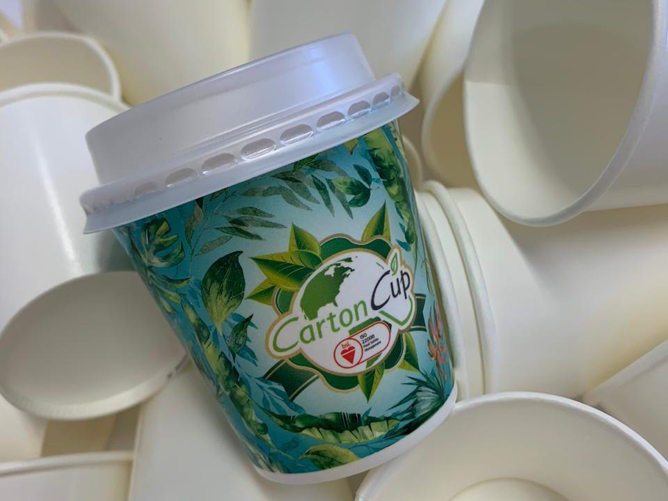 CartonCup doa copos de papel descartáveis para hospitais de Blumenau