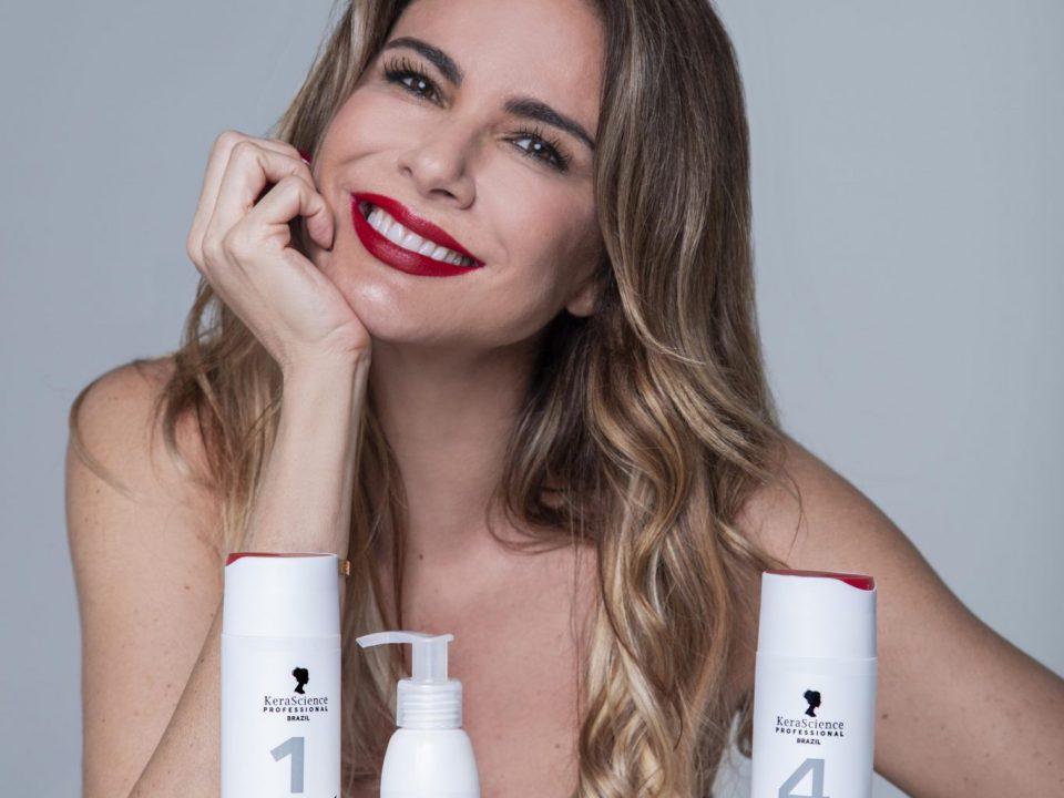 KeraScience Brazil lança linha de tratamento capilar assinada por Luciana Gimenez