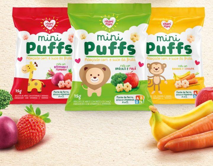 Nhami Mami apresenta linha de snacks saudáveis para crianças