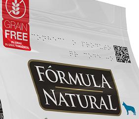 Novas embalagens de pet food da Adimax têm braile e QR Code