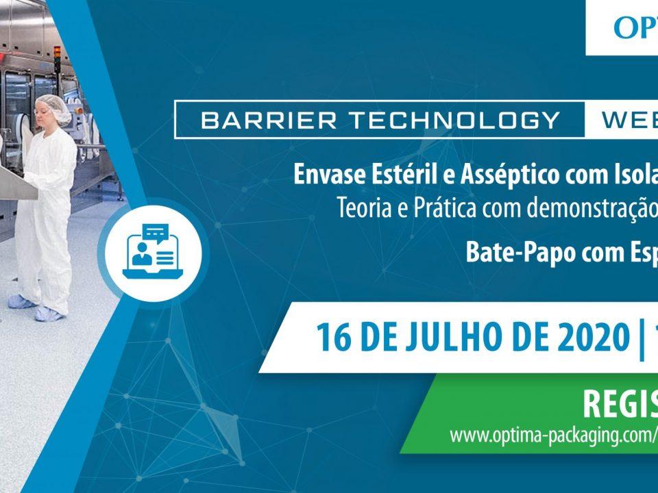 Optima do Brasil realiza webinar sobre tecnologia de barreiras