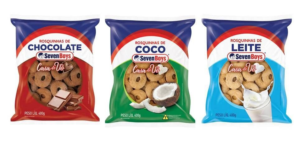 Seven Boys entra no segmento de biscoitos