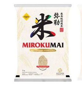 Azuma lança nova safra do arroz Mirokumai