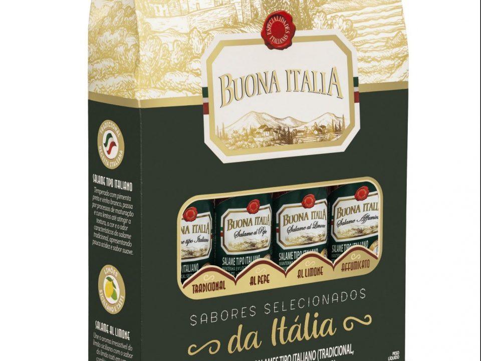 Buona Italia lança kit de salames