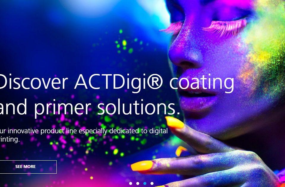 ACTEGA fortalece sua presença no mercado de impressão digital