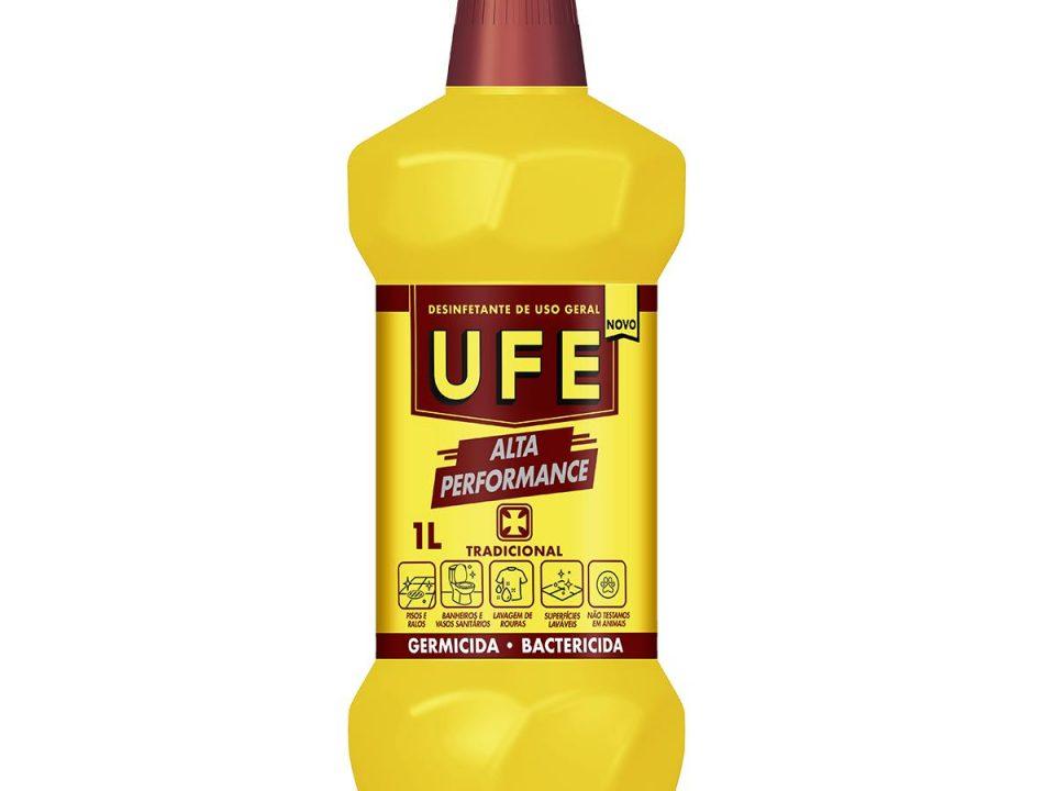 Desinfetante UFE ganha novas fragrâncias