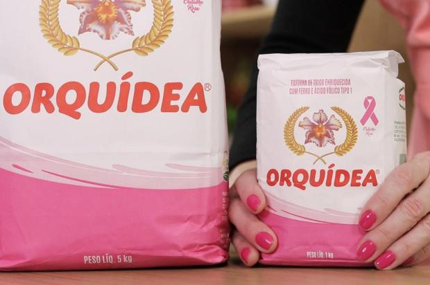 Embalagens de farinha Orquídea ficarão cor de rosa