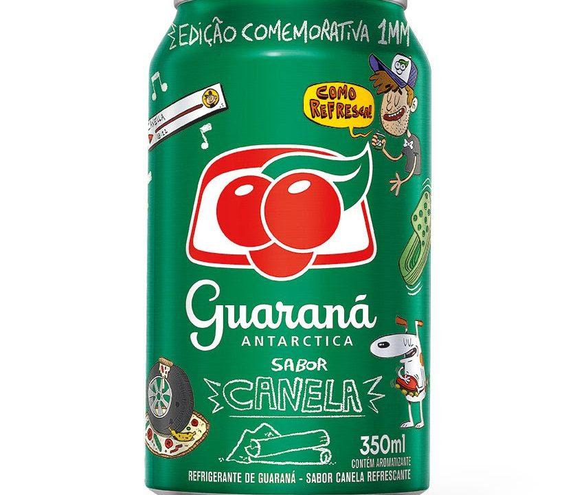 Guaraná Antarctica tem edição limitada sabor canela