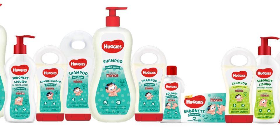 Huggies relança linha banho com válvula pump e refil para sabonete líquido