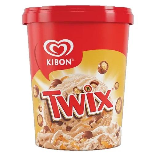 Kibon apresenta sorvete sabor Twix