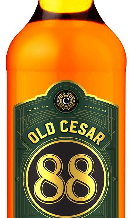 Rótulo de edição especial de 88 Old Cesar vira oficial