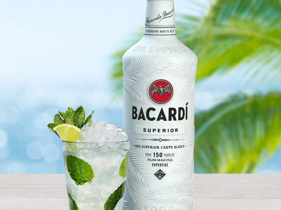 Bacardi vai retirar garrafas plásticas do mercado
