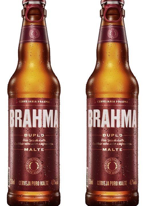 Brahma lança duplo malte em long neck retornável