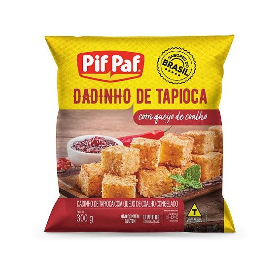 Dadinhos de tapioca da Pif Paf chegam ao mercado