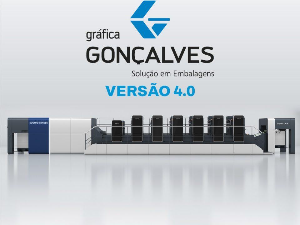 Gráfica Gonçalves aciona modelo 4.0 de produção de embalagens
