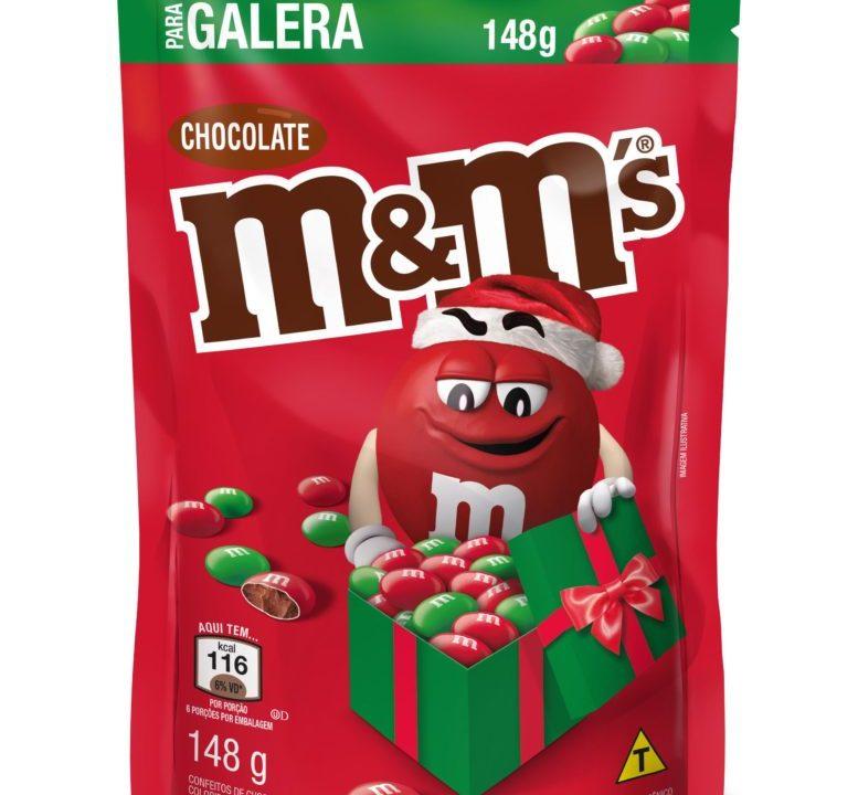 M&M's tem nova edição limitada para o Natal