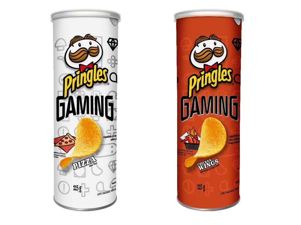 Pringles lança sabores Pizza e Chicken Wings em edição limitada