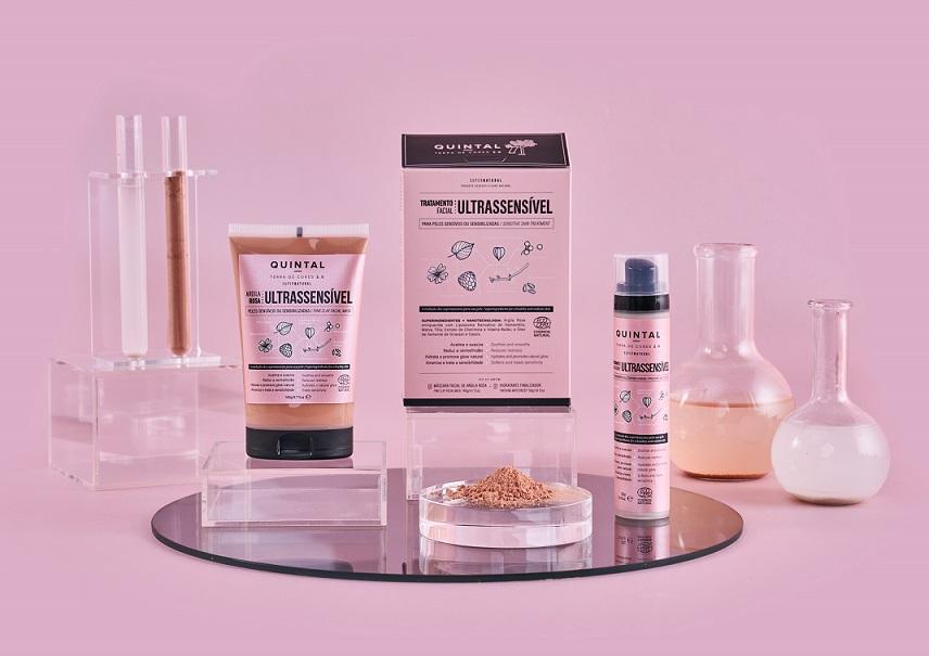 Quintal Dermocosméticos lança solução para peles ultrassensíveis