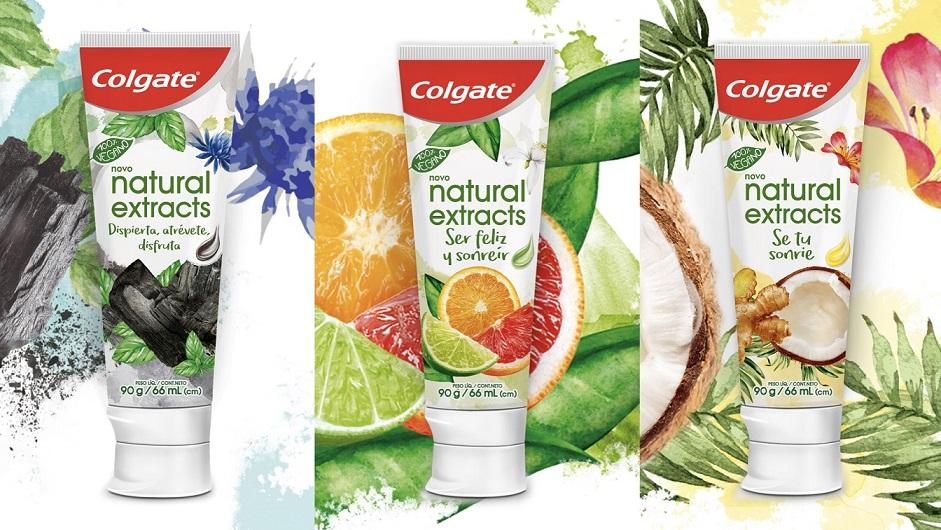 Colgate Natural Extracts ganha embalagens recicláveis com novo design