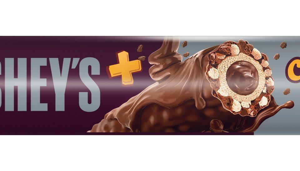 Hershey lança o snack Hershey's+ Chocotubes