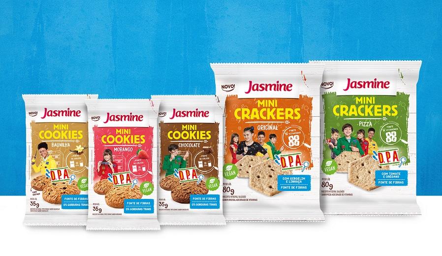 Jasmine Alimentos lança snacks infantis Detetives do Prédio Azul