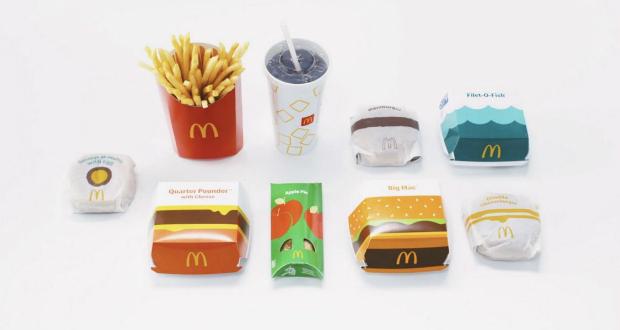 McDonald's apresenta novas embalagens que serão usadas em todo o mundo