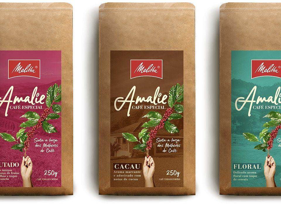 Melitta apresenta linha de cafés cultivados apenas por mulheres