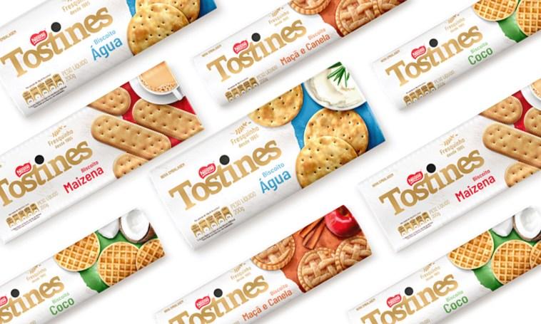 Nestlé reedita sabores clássicos de Tostines e São Luiz