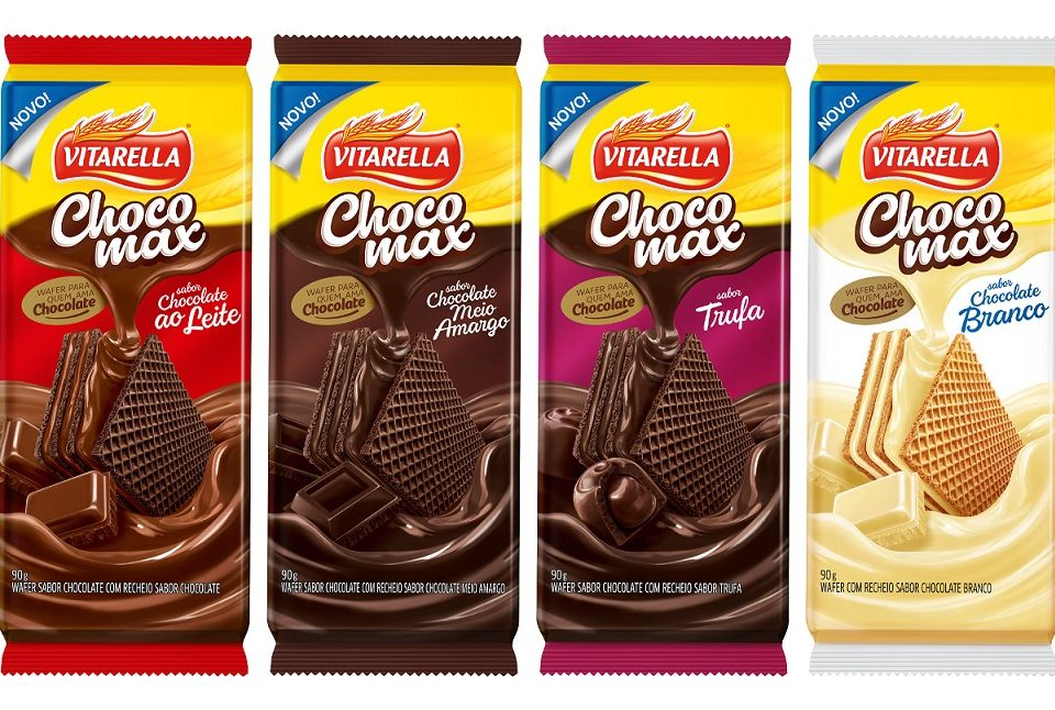 Vitrarella lança wafers de chocolate