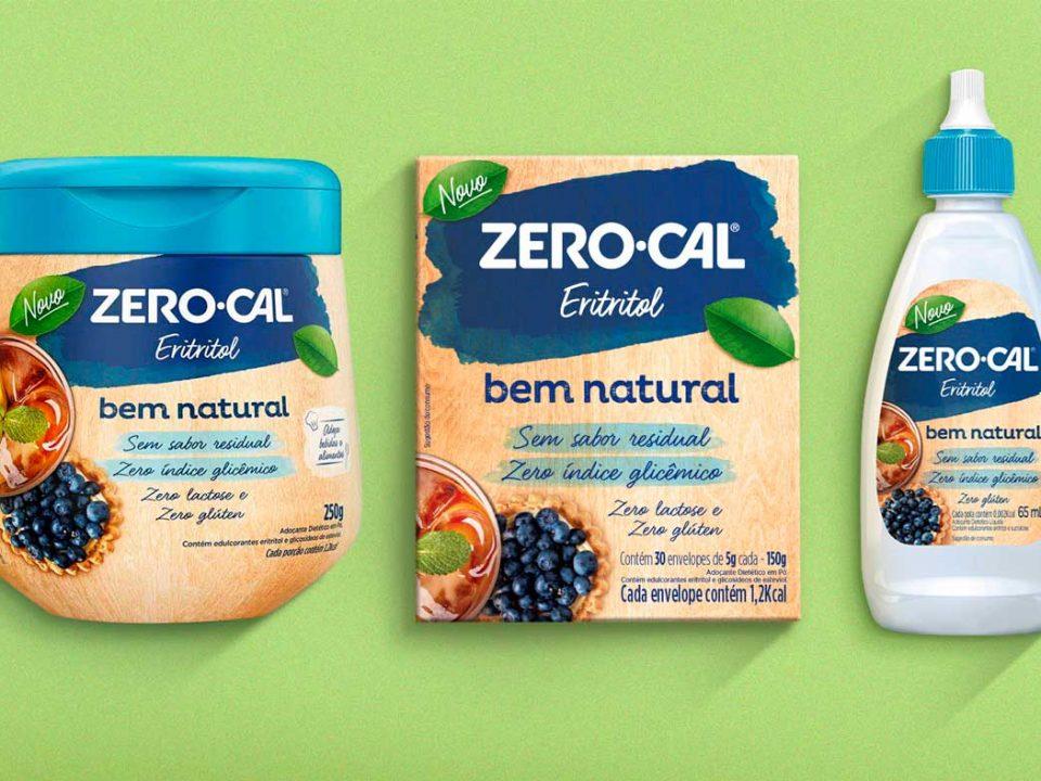 Zero-Cal lança linha Bem Natural