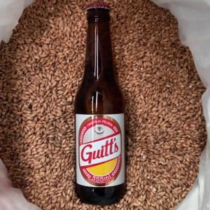Cerveja Guitt's ganha versão long neck