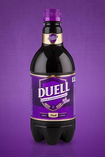 Duelo lança coquetel alcoólico gaseificado Duell