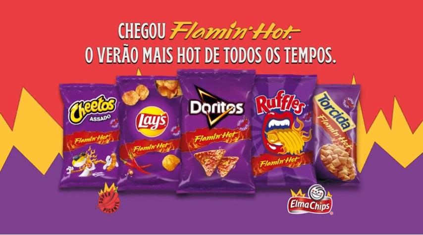 Elma Chips lança o mesmo sabor picante nas suas principais marcas