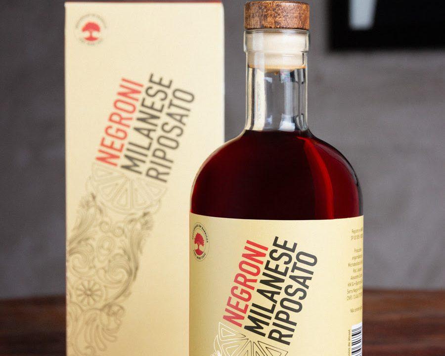Em edição limitada, Negroni Milanese Riposato chega ao mercado