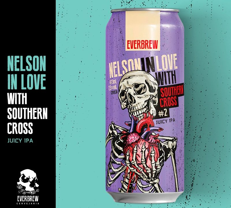 Everbrew lança série Nelson in Love com lúpulos do Novo Mundo