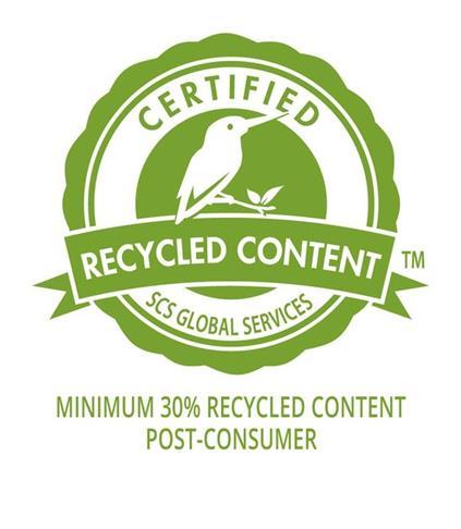 Filme da Terphane com resina PET reciclada pós consumo recebe certificação internacional SCS