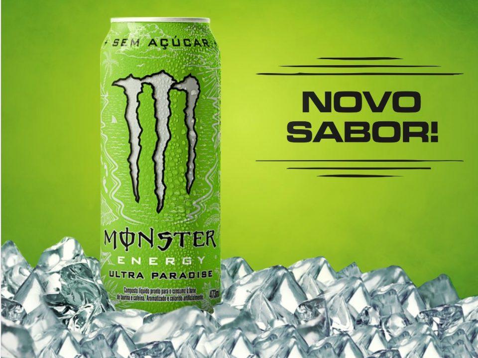 Monster Energy lança novo sabor zero açúcar para o verão