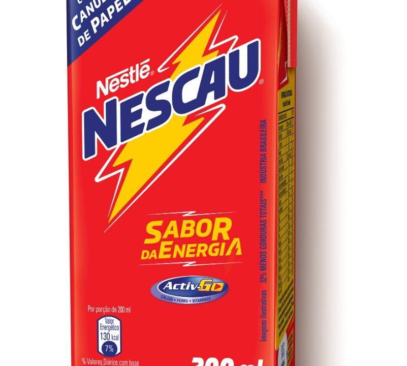 Nescau anuncia a retirada de 100% dos canudos plásticos de suas bebidas