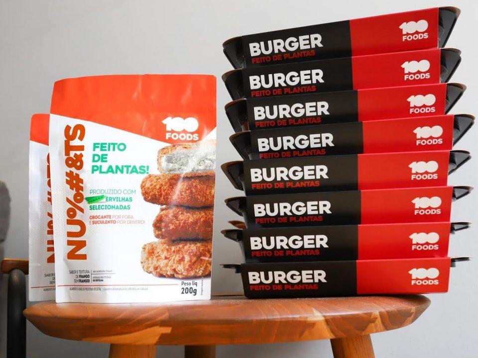 100 Foods apresenta sua nova linha de alimentos à base de proteína de ervilha