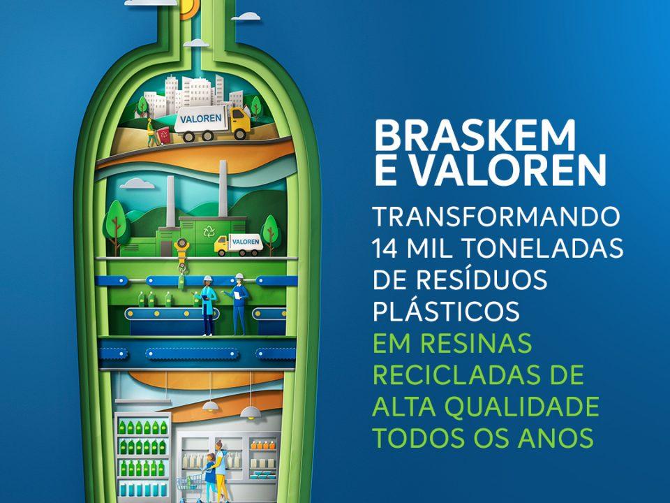 Braskem avança em gestão de resíduos e vai ampliar volume de resinas recicladas pós-consumo