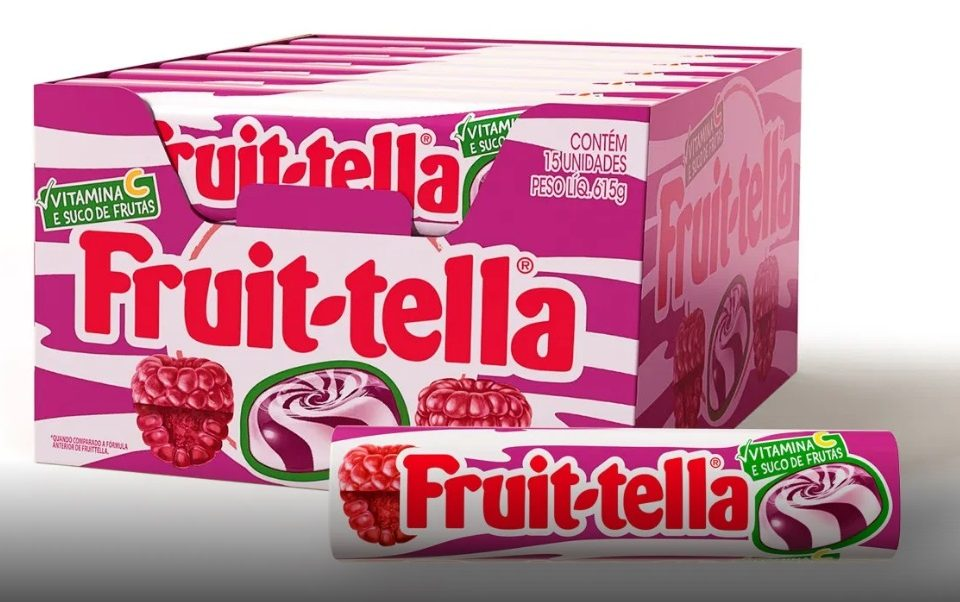 Fruittella lança novo sabor