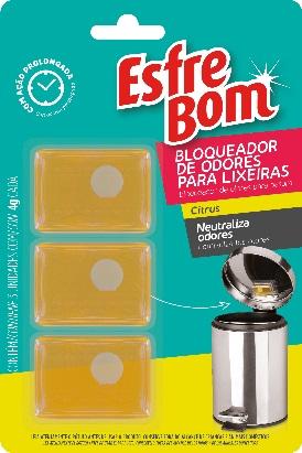 Lançamento da Esfrebom bloqueia maus odores na lixeira