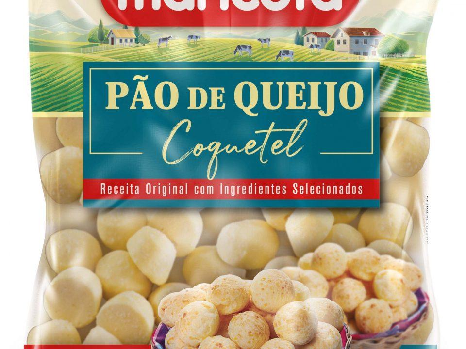 Maricota Alimentos renova embalagens de pães de queijo