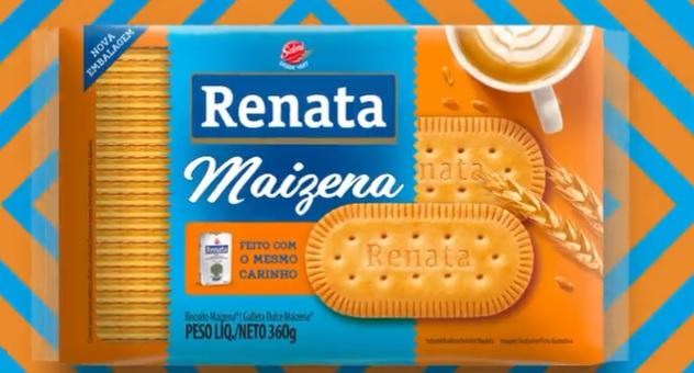 Renata tem as embalagens redesenhadas