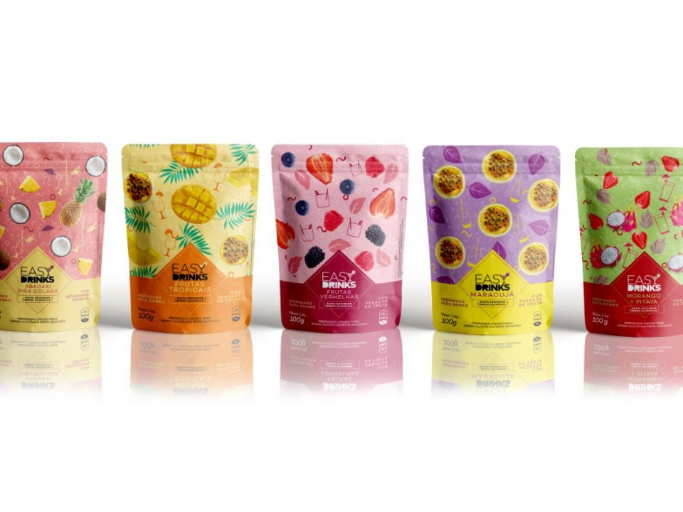 Easy Drinks aposta em stand-up pouches no e-commerce